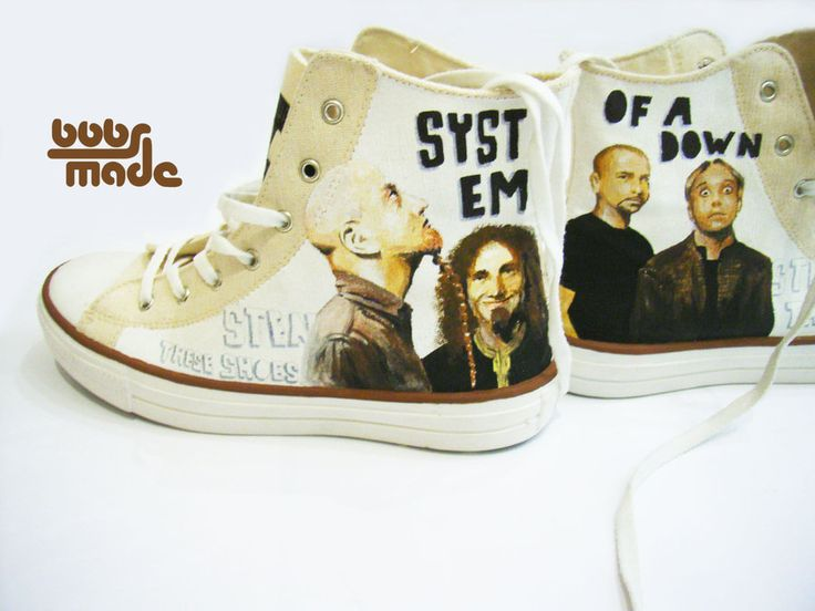 System of a down- shoes by ~Bobsmade on deviantART