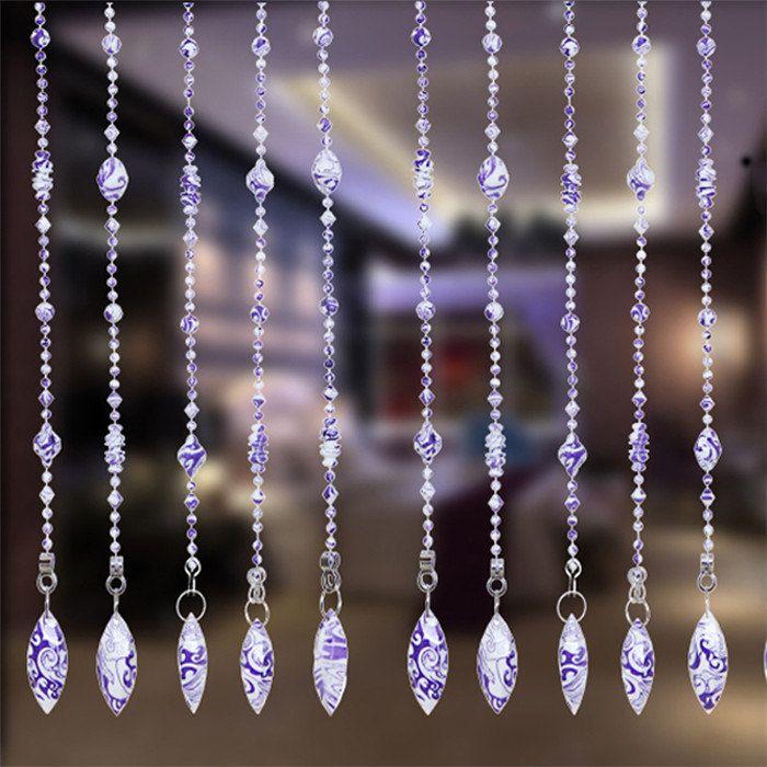 Purple Color Handmade Acrylic Wedding Bead por Handworkaccessory