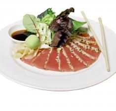 Sashimi Albacore Tuna Tataki | Recipes | Finest at Sea