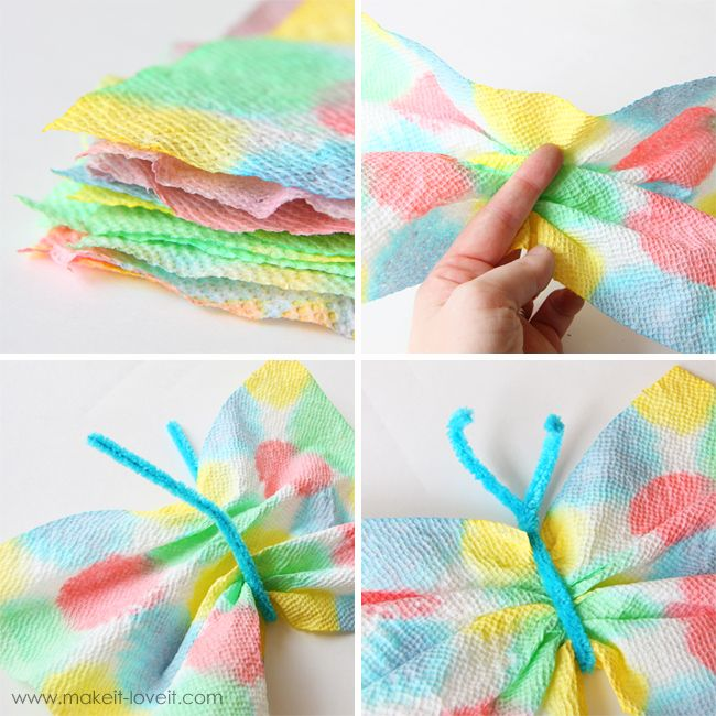 paper towel butterflies, trying this next!