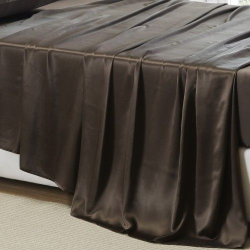 19 MOMME SILK FLAT SHEET