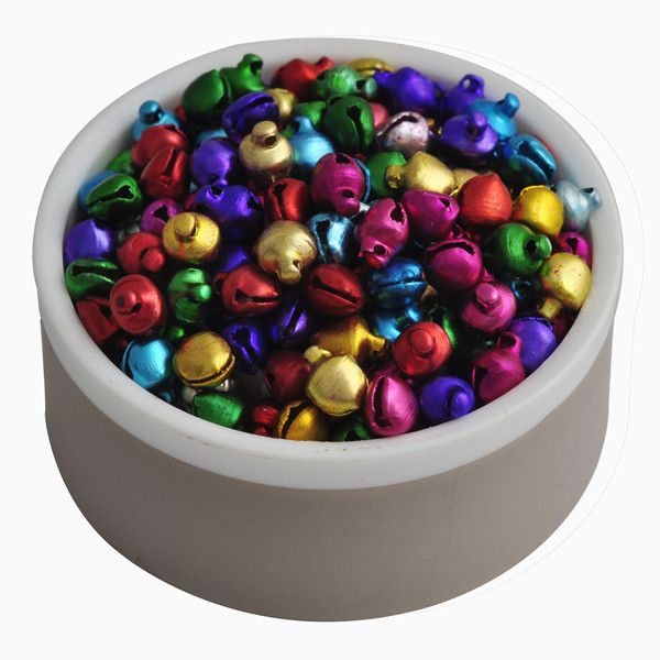 6MM 200 pcs/lot Mix Colors  Loose Beads Small Jingle Bells Christmas Decoration Gift Wholesale ly >>> Learn more by visiting the image link.