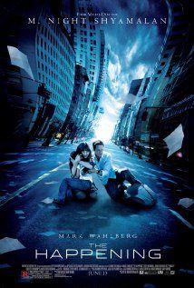 THE HAPPENING.  Director: M. Night Shyamalan.  Year: 2008.  Cast: Mark Wahlberg, Zooey Deschanel and John Leguizamo