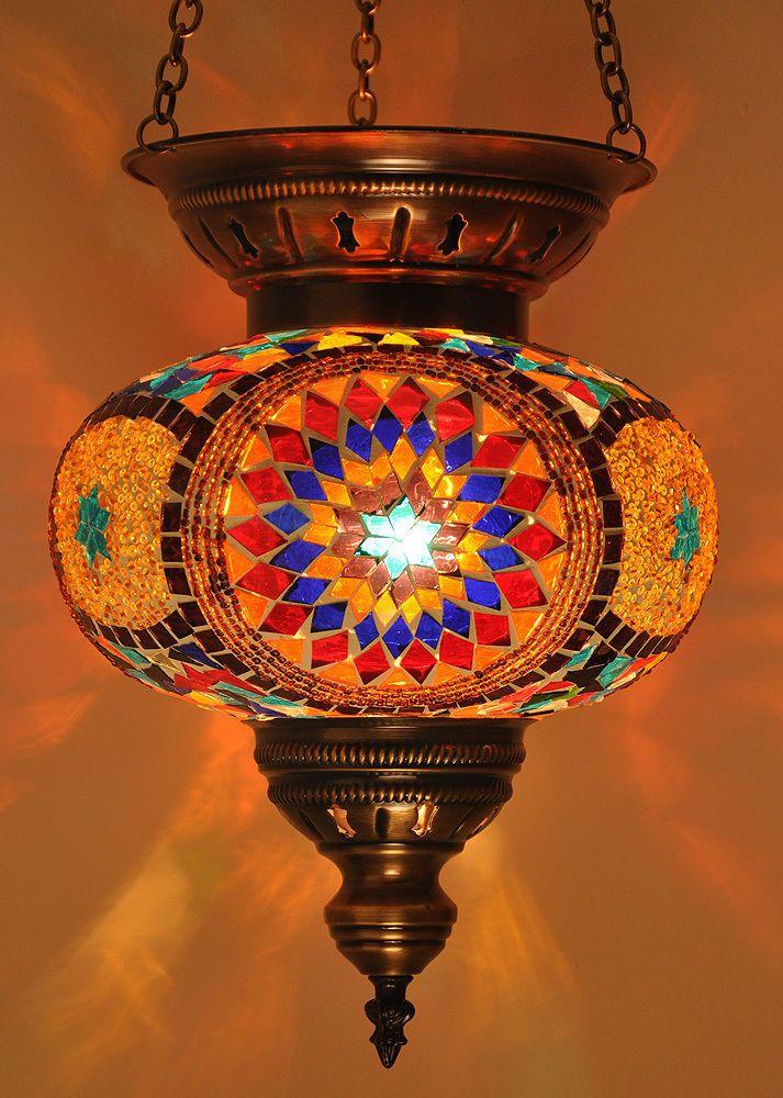 Lámpara Turca - Marroquí de importación de Turquía, entrega 15 a 20 días #Colombia, solicitar detalles y cotización: norlu333@hotmail.com LARGE TURKISH MOSAIC CANDLE LAMP LIGHTING MOROCCAN HANGING GLASS