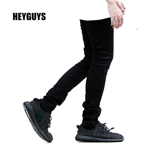 white pants elastic high quality street fashion slim fitness high street male casual pants jogger men pants hip