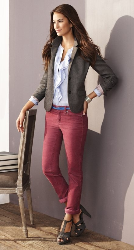 Yes... I want this entire outfit. Ann Taylor Loft- I love you!