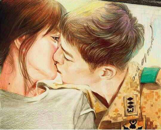 Fanart  #descendants of the sun