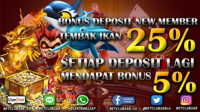 Bonus Deposit Tembak Ikan Joker123 Juni 2020 Ikan Game Tahu