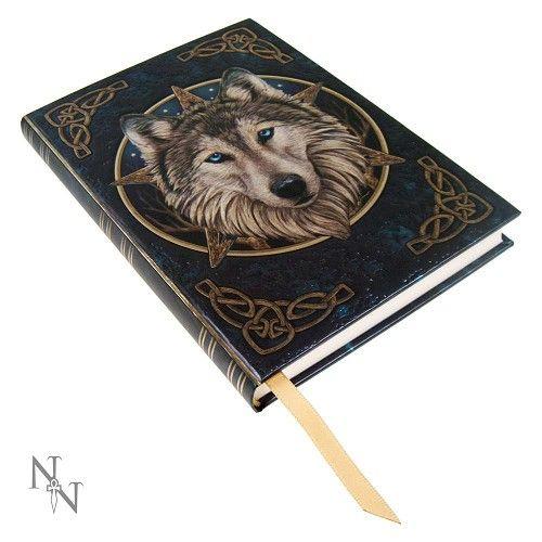 The Wild One - Wolven kop notitieboek Multicolours – Fantasy – Nemesis Now
