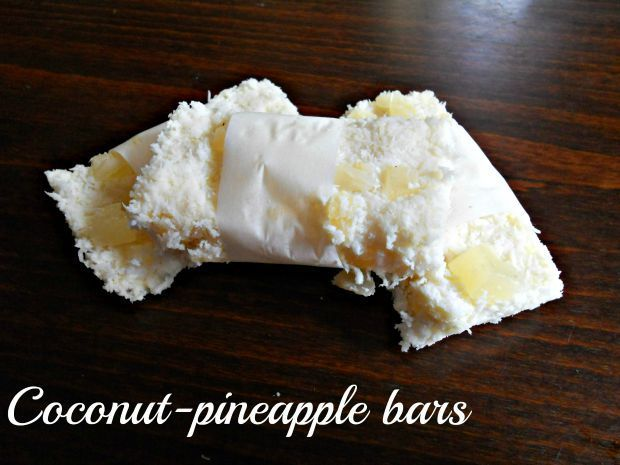 Coconut-pineapple bars - Anna Can Do It!
