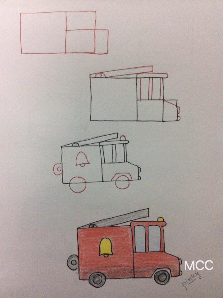 Easy fire truck