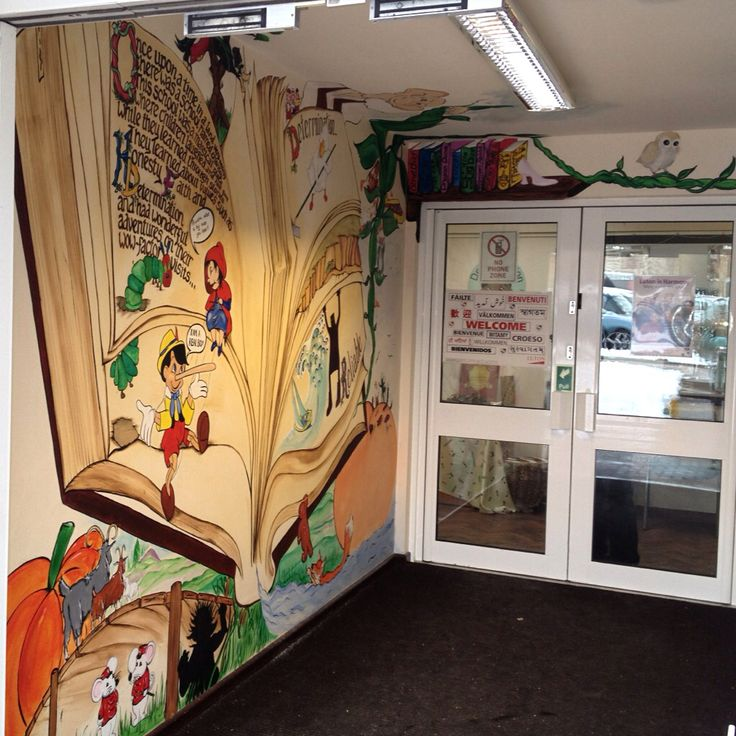 The living story Book at Chantry Primary School