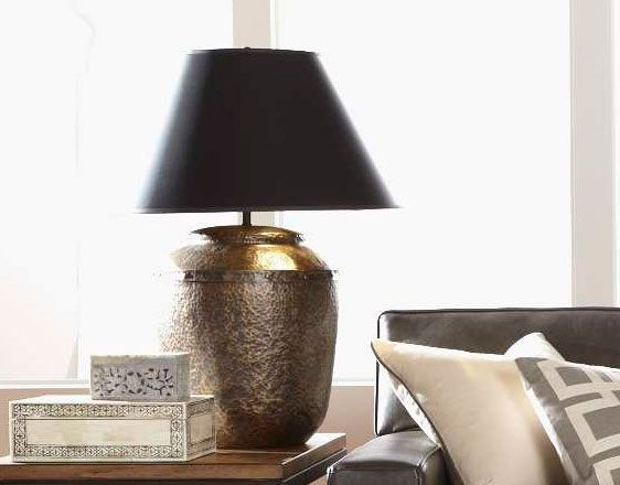 From Ethan Allen · Great Design? Hammer It Home With Our Ruston Metal Table  Lamp.
