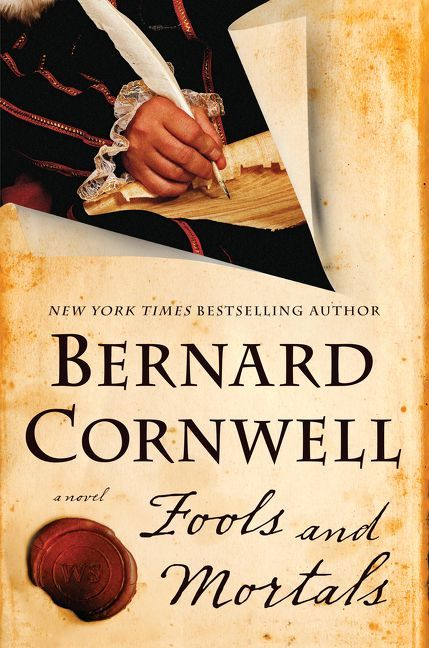 "Fools and Mortals, by Bernard Cornwell (2018). ""[The author] makes a dramatic departure with this enthralling, action-packed standalone novel that tells the story of the first production of A Midsummer Night's Dream—as related by William Shakespeare's estranged younger brother."" (Website)"