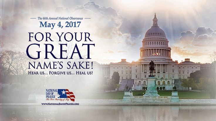 National Day of Prayer is May 4, 2017 How can we pray for you? https://reasonsforhopejesus.com/national-day-prayer/
