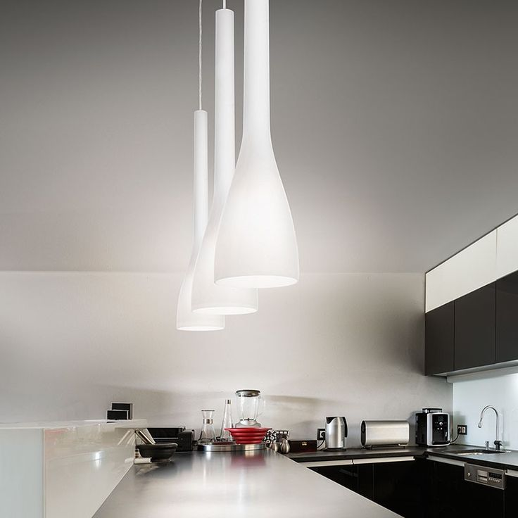 Flut pendant white lighting direct