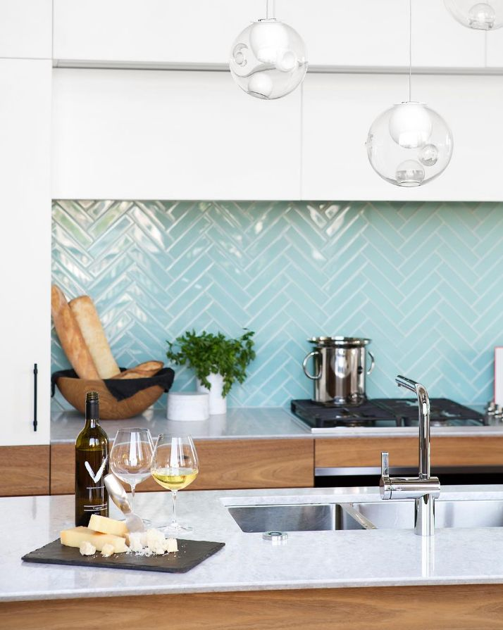 Die besten 25+ Küchen Spritzschutz Ideen auf Pinterest Rückwand - arbeitsplatte küche nussbaum