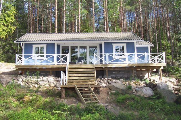 Zweden, Filipstad - vakantie huis voor 5 personen met uniek uitzicht, aan een meer met eigen steiger en roeiboot - Lekker weg in Zweden