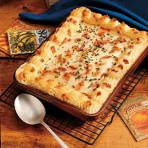 Check out this recipe for picnic mashed potatoes... and you can skip the whole section about peeling, chopping and boiling fresh potatoes when you start with Idahoan Mashed!