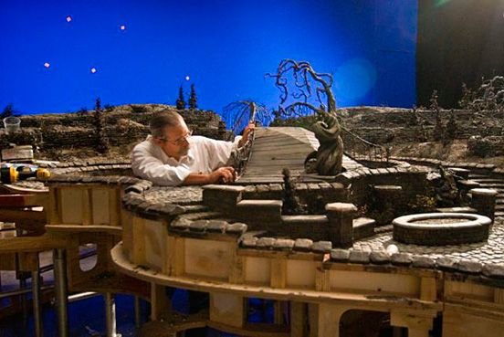 """Building the set for the animated film """"Coraline"""""""