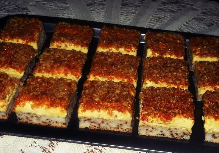 Retete culinare : Prajitura cu nuci pralinate, Reteta postata de Creatsa in categoria Prajituri