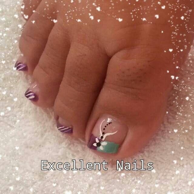 best 25+ decoracion uñas delos pies ideas on pinterest | uñas
