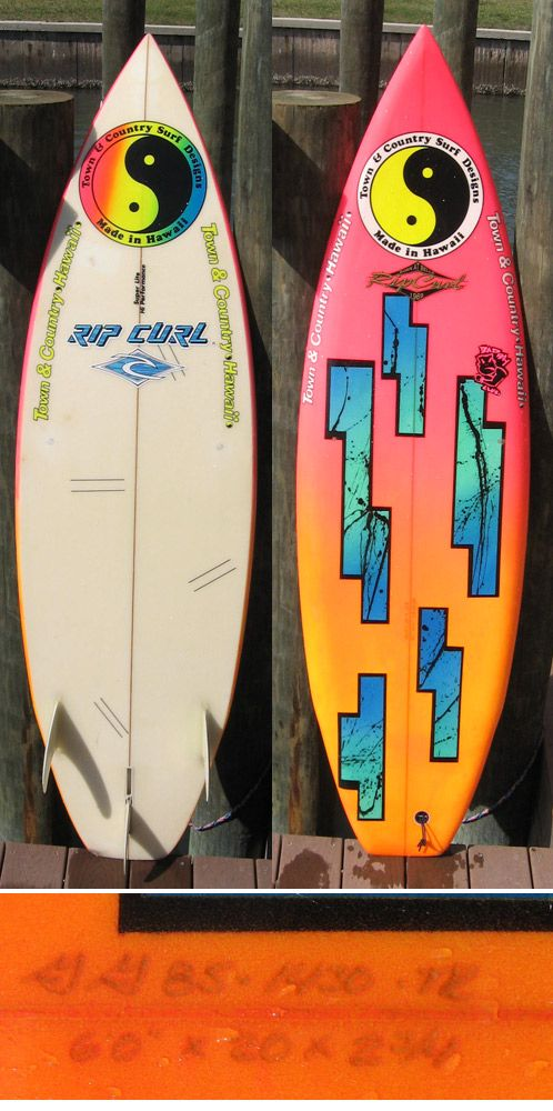 Town And Country Surf Designs