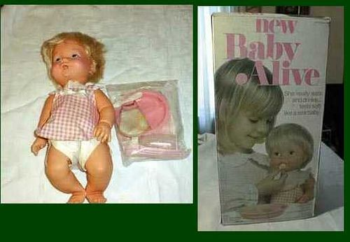 1970's Baby Alive Doll