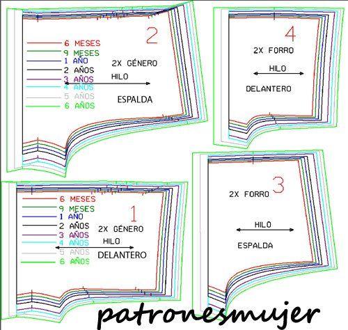 Pantalon bombacho-patron - Patronesmujer: Blog de costura, patrones y telas.