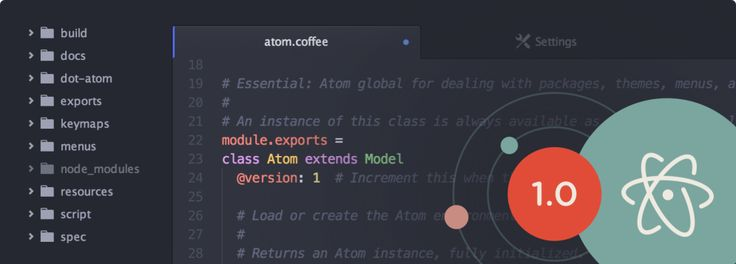 GitHub's Atom Text Editor Hits 1.0, Now Has Over 350,000 Monthly Active Users | TechCrunch