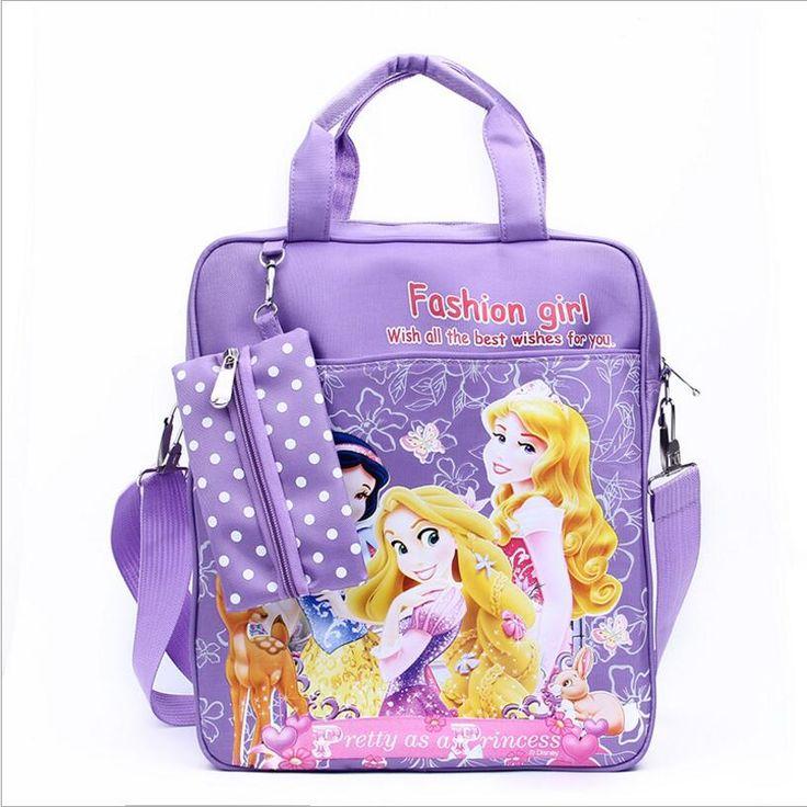 2016 New fashion girls Messenger bag Tutorial bag shoulder bag for girls cloth children Doraemon bag birthdays gifts  CWX