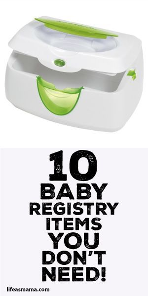 10 Baby Registry Items You Don't Need