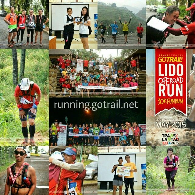 Go Trail Lido Run Off Road 30K Bogor Indonesia May 2015