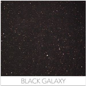 Black Granites - Black Galaxy. Now in stock at Dwyer Marble and Stone!