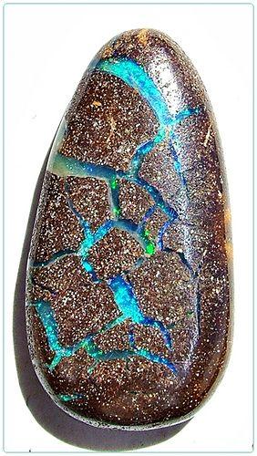 Queensland Boulder Opal Solid - Opals-On-Black.com