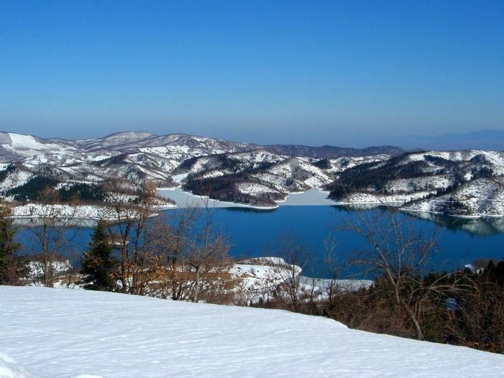 Plastira Lake, Thessalia, Greece (more images at http://www.gogreecewebtv.com)