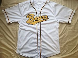 Men's Bad News Bears movie Bo-Peeps Gentlemans club baseball jersey size XL