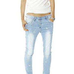 Bestyledberlin Damen Jeans Hosen, Hüftjeans j266p 38/M