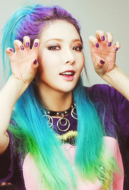 Hyuna Roll Deep hair