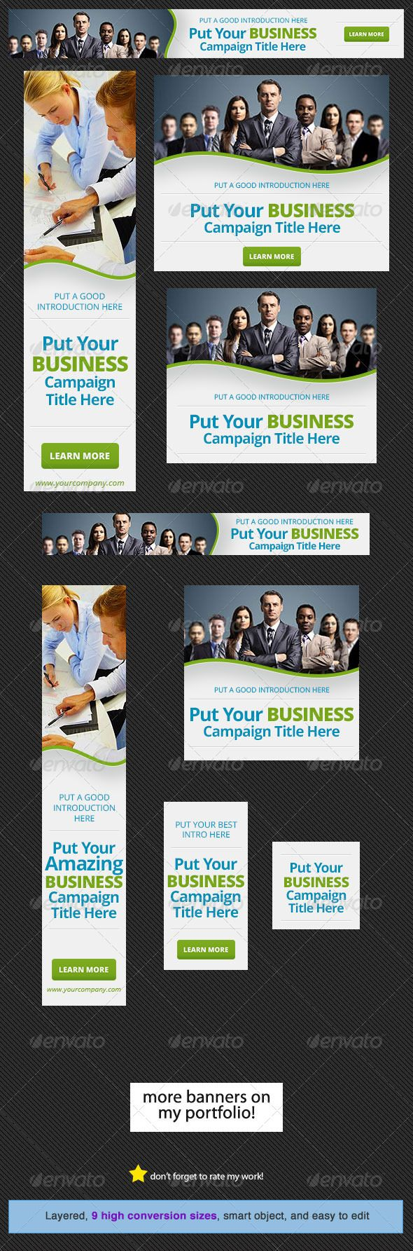 Design a banner for your website - Corporate Web Banner Design Template 15
