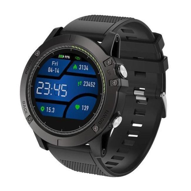 d4d8ec87500e1 Die taktische Taktische Smartwatch V5 ist die ideale Smartwatch für  Profisportler. Hergestellt aus hochwertigen Materialen