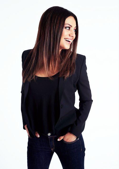 actress, brunette, dream, fashion, jean, mila kunis, oz, pretty, smile, style, ted