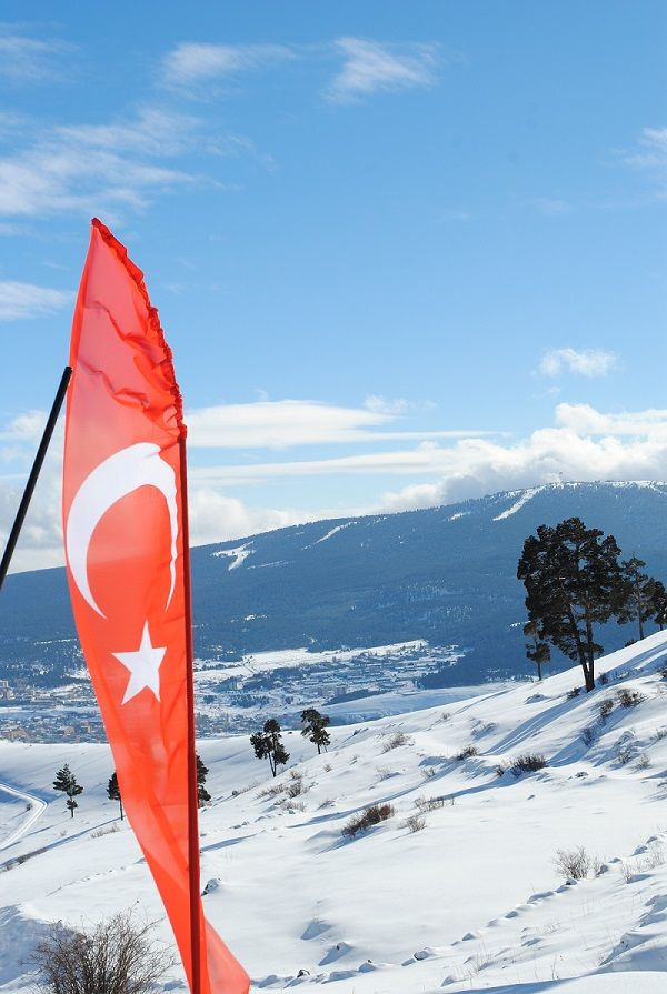 Türk Bayrağı, Sarıkamış, Türkiye, Turkey