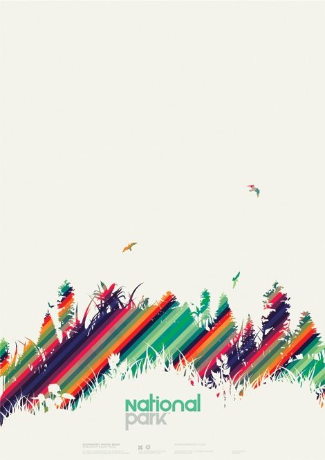 Excellent use of colors in this poster. The composition as well as the creation is just amazing.#abstract #silhouette #color
