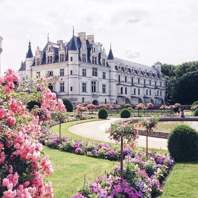 Places: Châtau de Chenonceau, Loire Valley, France