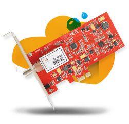 TBS6922SE DVB-S2 TV Tuner PCIe Card- Internal TV Tuner Card for PC