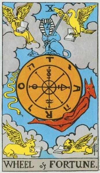 Una carta que representa la vida en un perfecto equilibrio; constituyendo así un símbolo de la evolución, reconociéndose tres fases fundamentales, el subir o volver a subir, asociado a una evolución, la caída como una involución y la pasividad alcanzada por el equilibrio