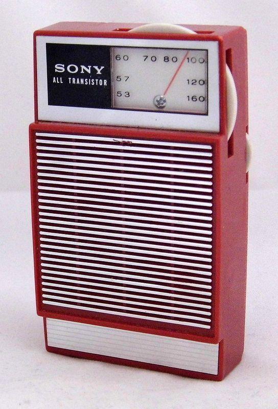 Vintage Sony All Transistor Radio Model 2r22 Broadcast Band Only Rhpinterest: Tr 2051 Radio Realtone Electronics Inc Where Build At Gmaili.net