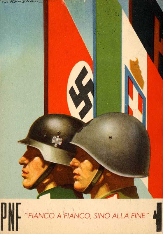 "Italian WW2  ""Side by side, until the end."""