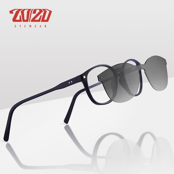 9e816003c7 20 20 Brand UV400 Classic Clip On Sunglasses Men Magnet Women Eyewear Glasses  Frames TR90 Optical Glasses Frame TR137  Discounts  BestPrice